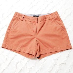 J. Crew Born Orange Chino Shorts